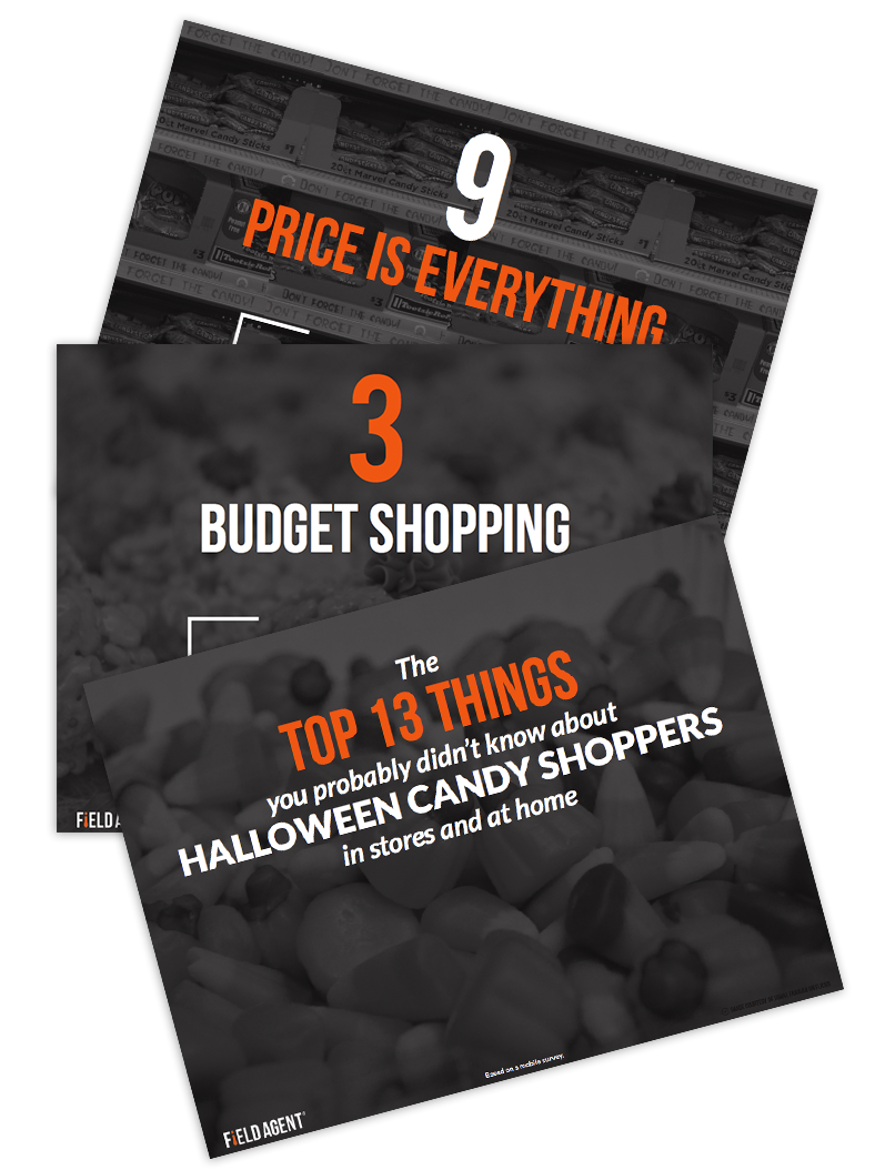 Field Agent Mobile Audit - Halloween Candy Shopping