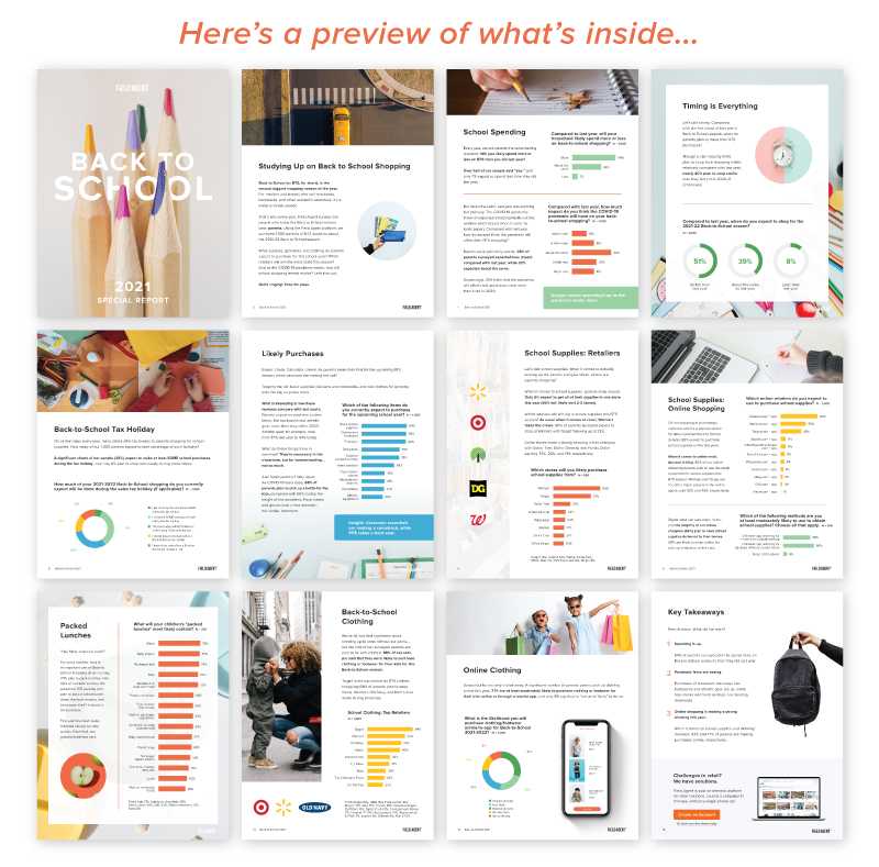Back to School 2021 Pages Preview