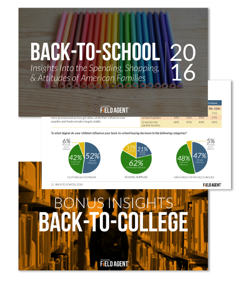 Back-to-School and Back-to-College Shopper Insights