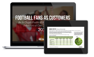 FOOTBALL FANS AS CUSTOMERS An In-Depth Profile of the Shopping Attitudes, Behaviors of Over 500 Football Fans, Powered