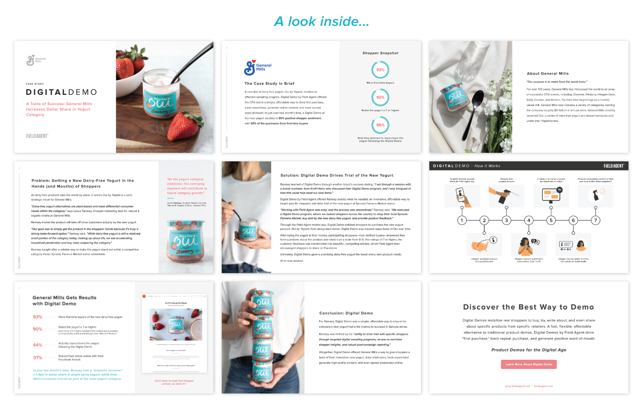General Mills Case Study Pages Inside Look