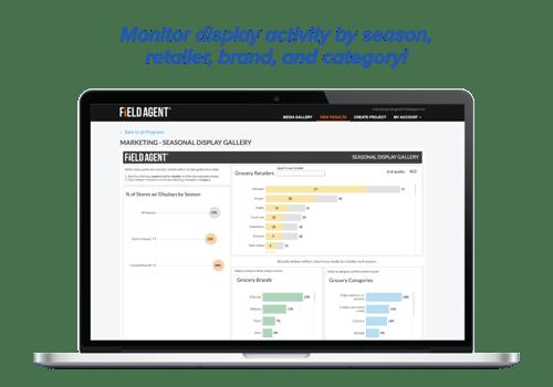 Seasonal Display Tracker