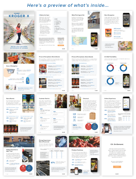 Kroger X Report Pages