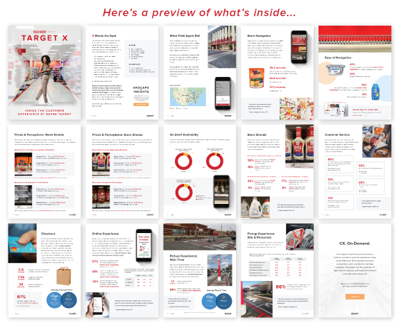 Target X Report Pages