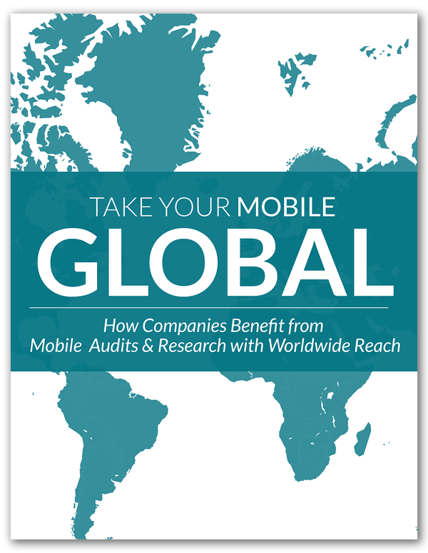 Take Your Mobile Global - International Case Study