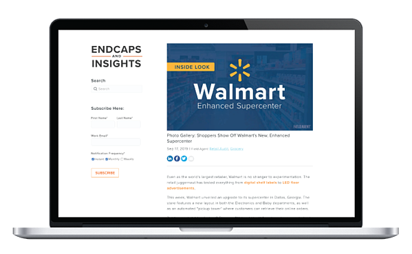 Endcaps and Insights Preview